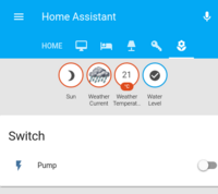 Home Assistant Screen