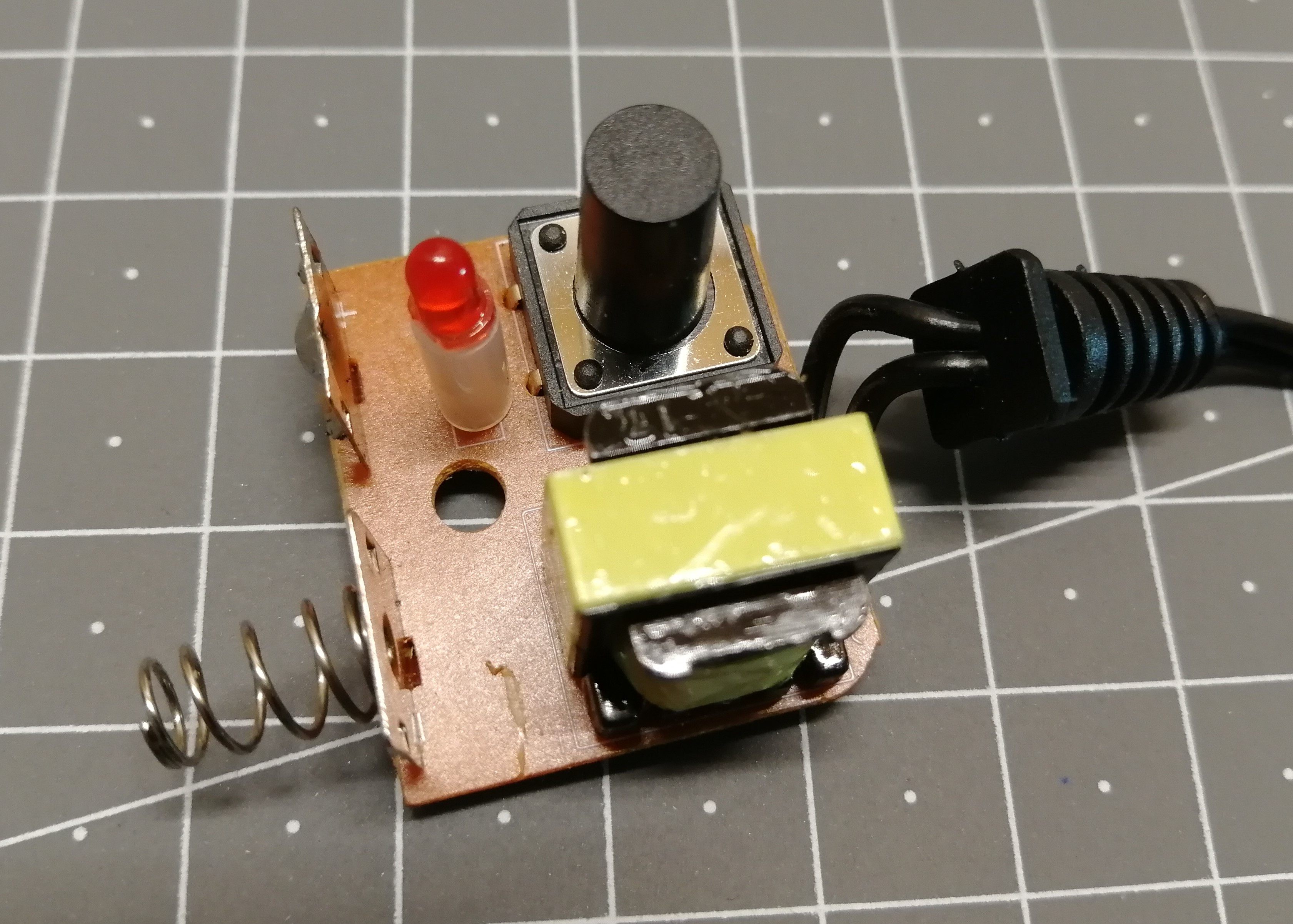hacking an el wire inverter splitbrain org rh splitbrain org diy el wire inverter schematic