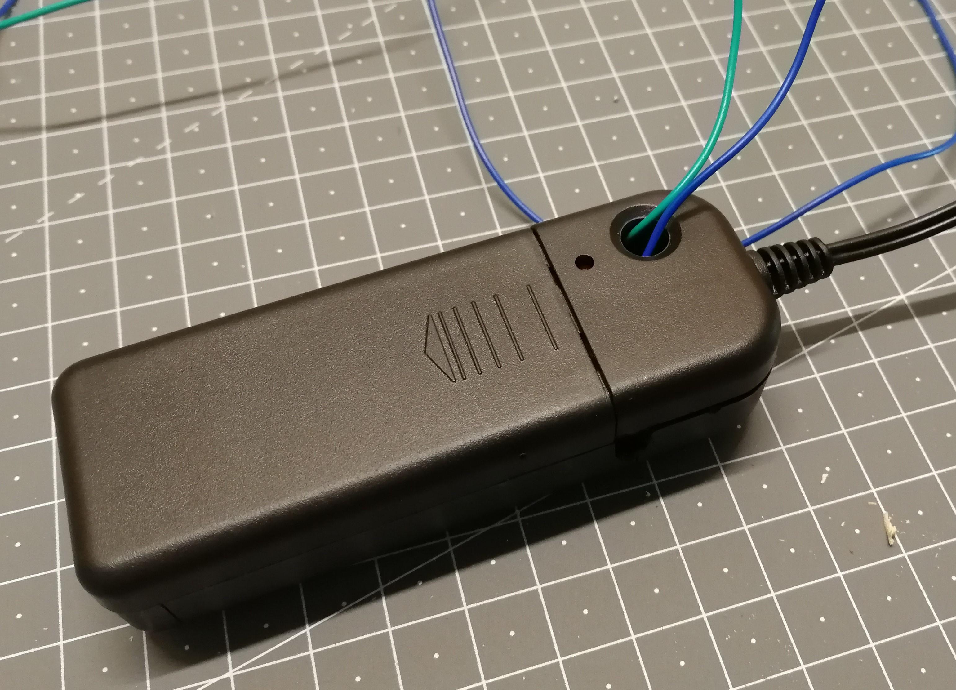 Hacking an el wire inverter splitbrain