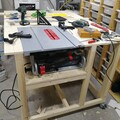 mounted table saw